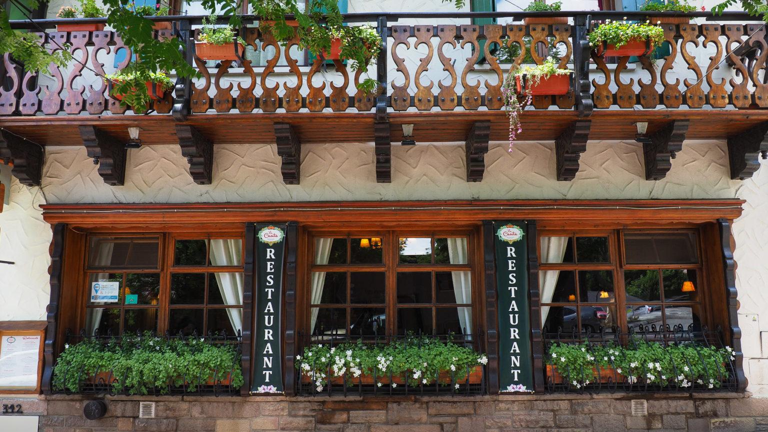 Alpenländischer Stil in Bariloche
