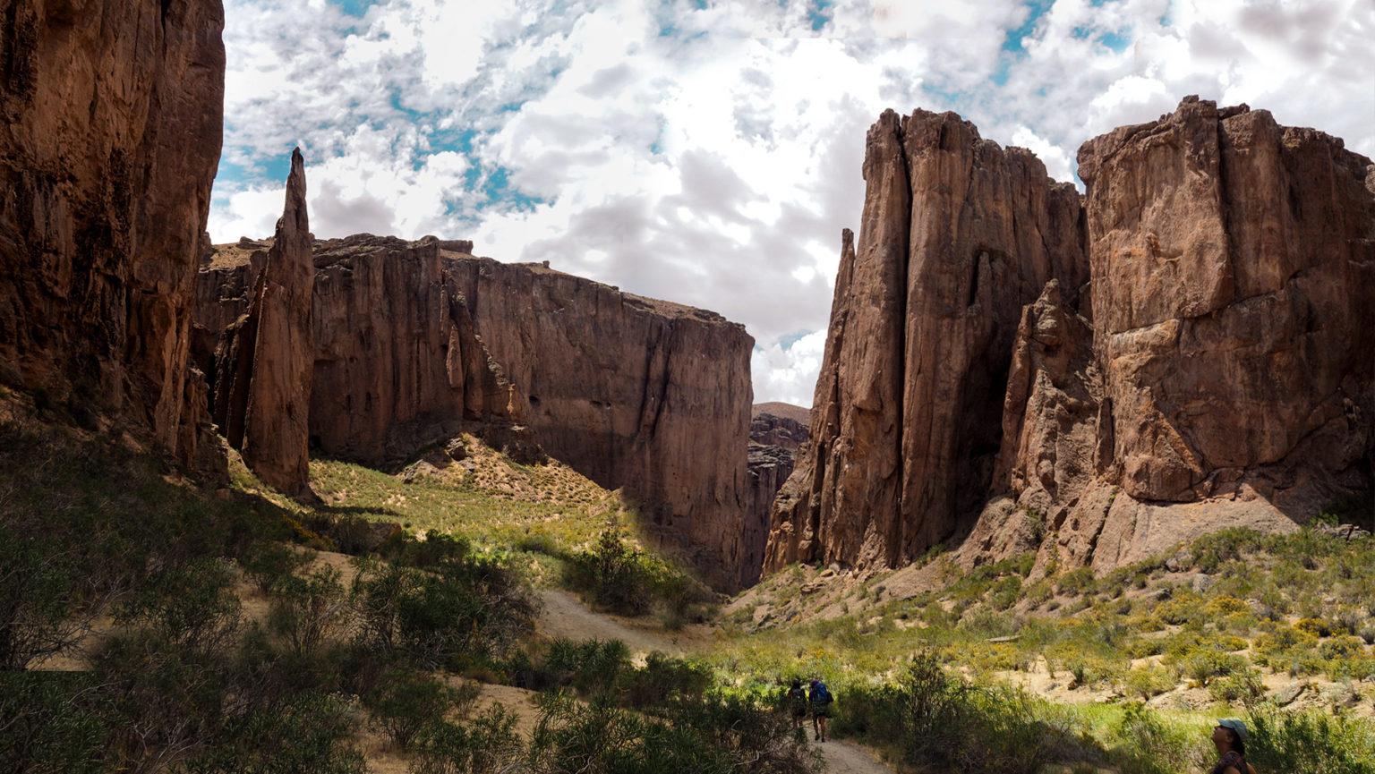 In dieser Schlucht im Zentrum Argentiniens liegt ein tolles Klettergebiet
