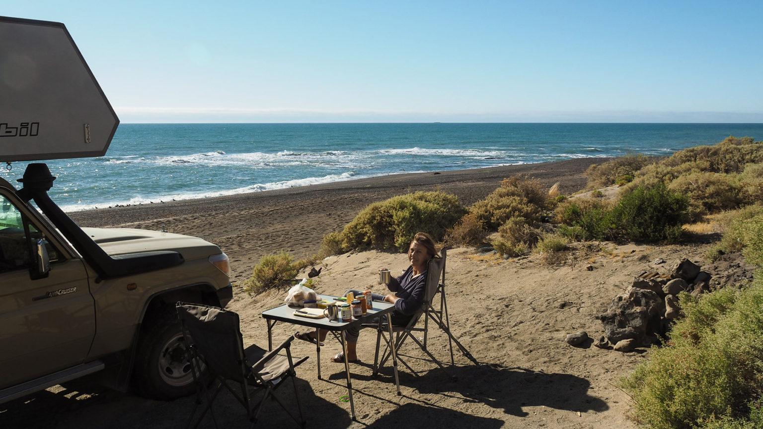 Hier am Atlantik ist es leicht, immer wieder ein schönes Plätzchen am Strand zu finden