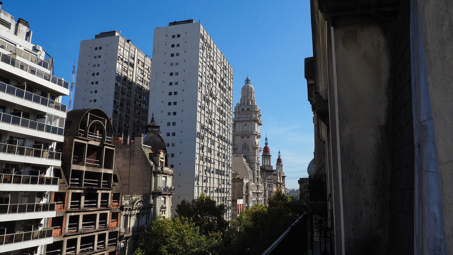 Schade dass wir uns Buenos Aires nicht mehr ansehen konnte