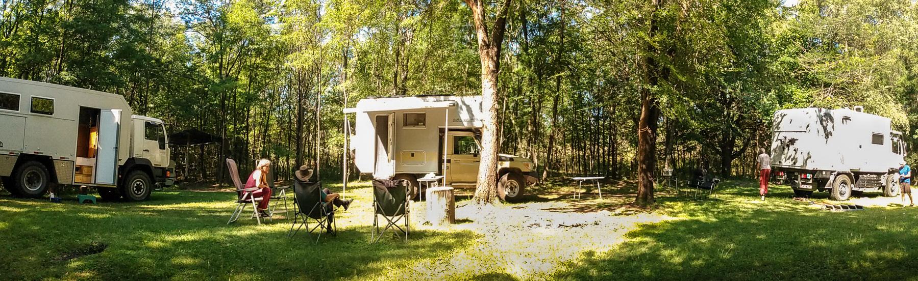 Geniale Zufluchtstätte im Wald