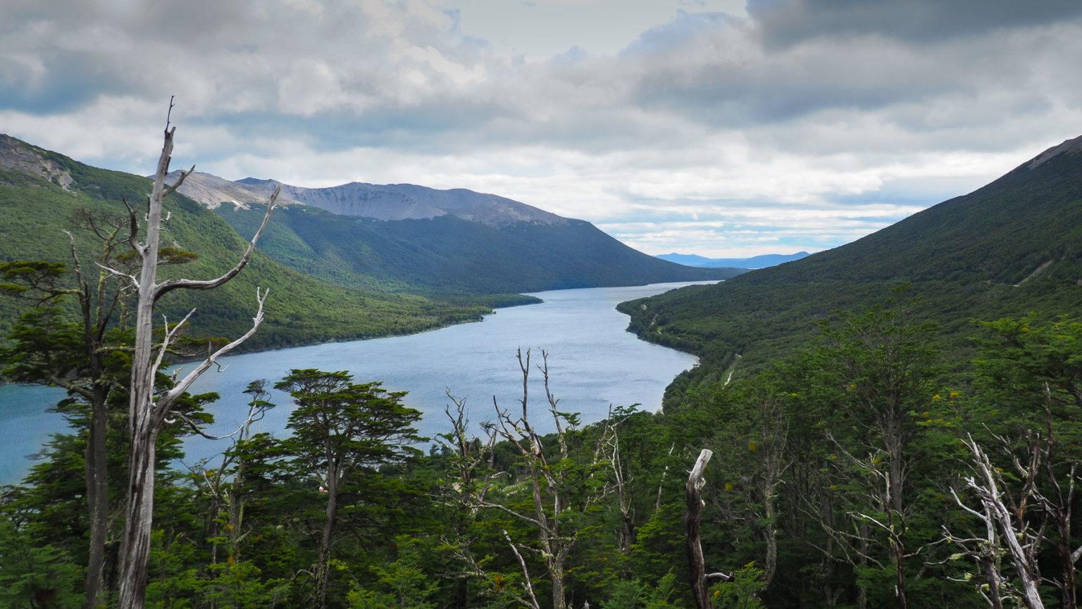 Weiter südlich gibt es Wälder und fjordartige Seen auf Feuerland