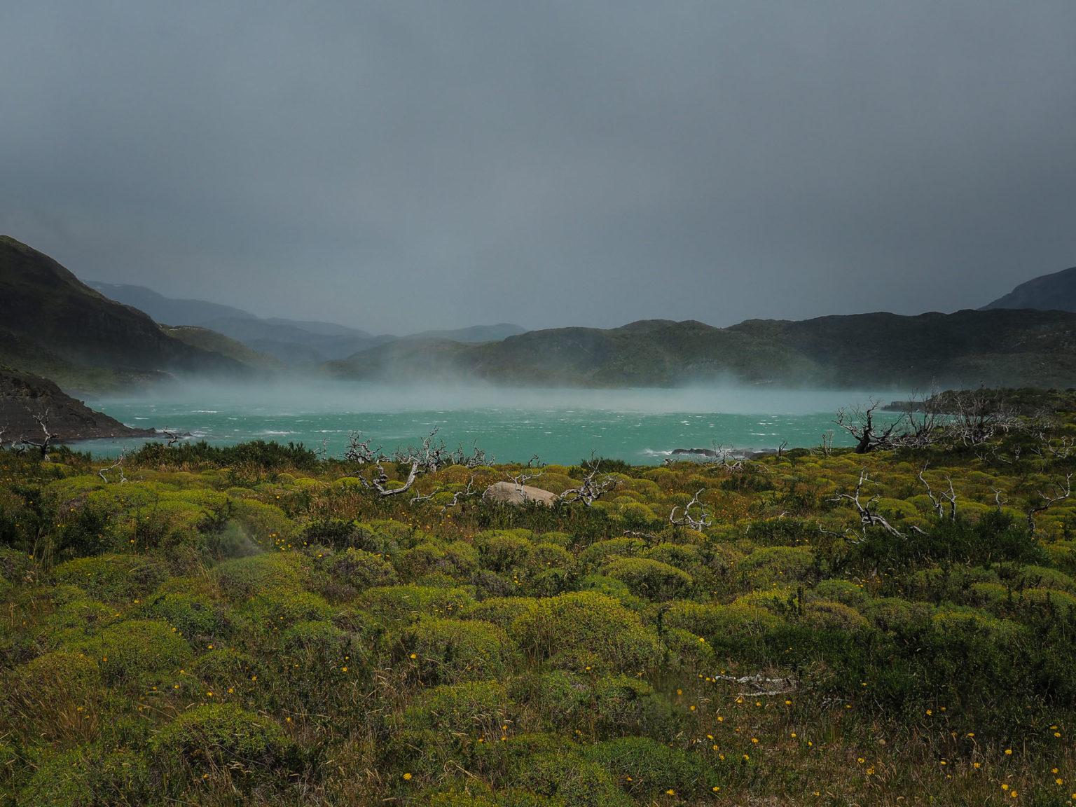 Der berüchtigte Patagonische Wind weht fast jeden Tag
