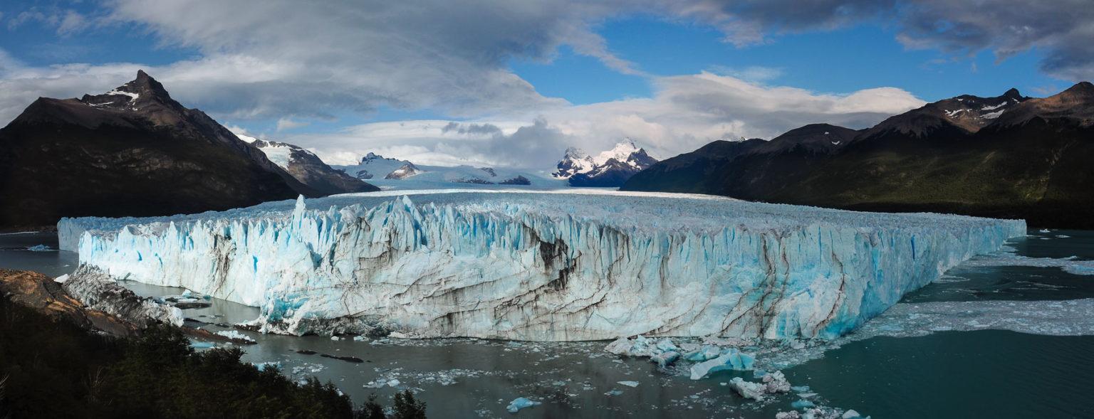 Perito Moreno in seiner ganzen Schönheit