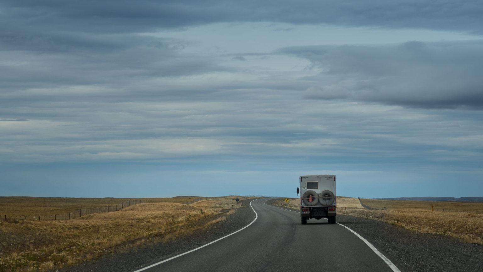 Weiter über die Pampa in Argentinien nach El Calafate