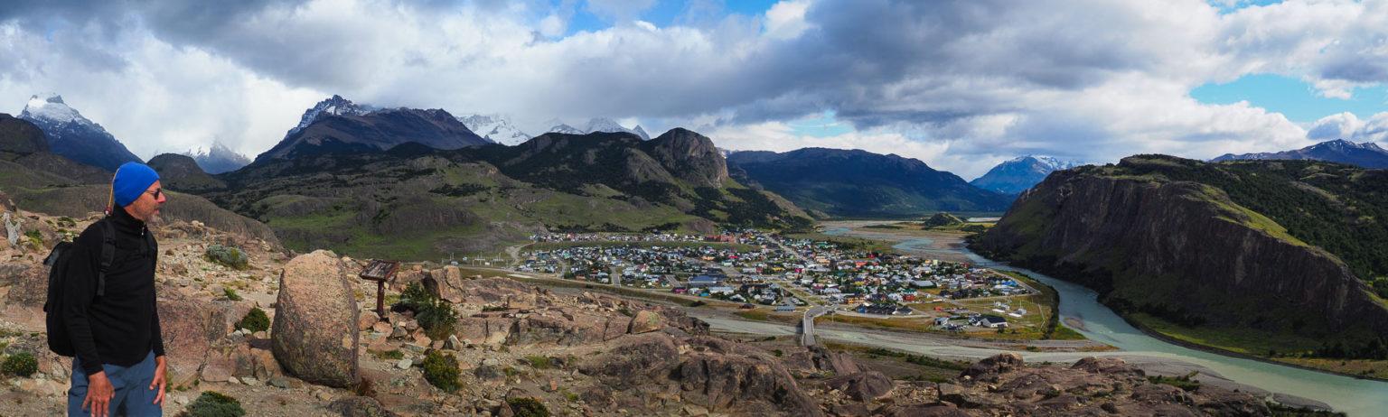 Blick vom Mirador auf El Chalten