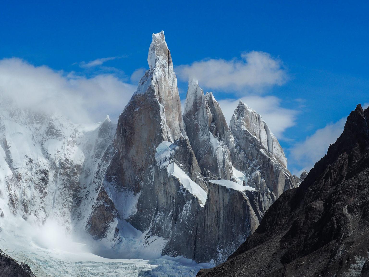 Cerro Torre in seiner vollen Schönheit