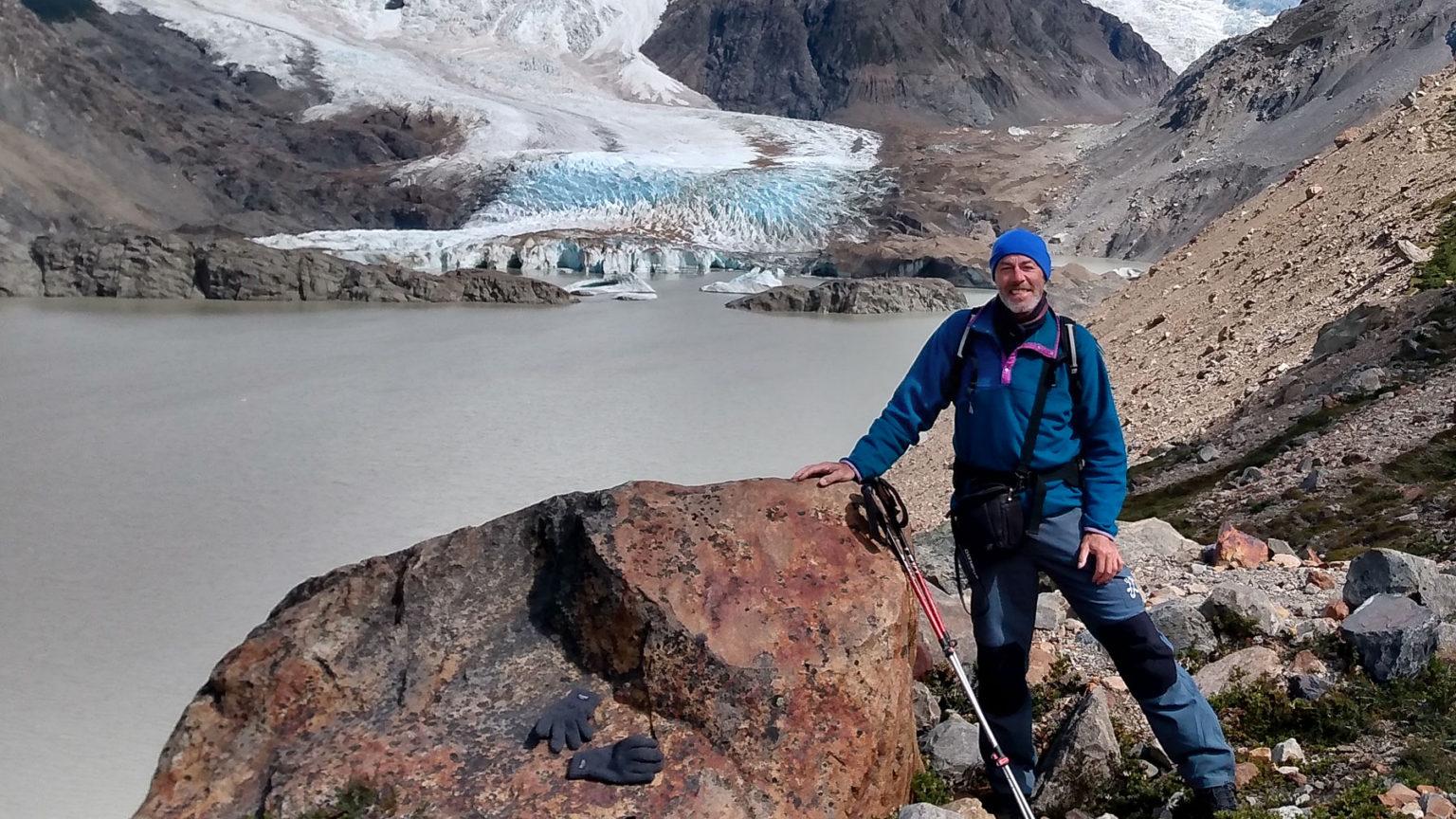 Majestätische Gletscher in Patagonien