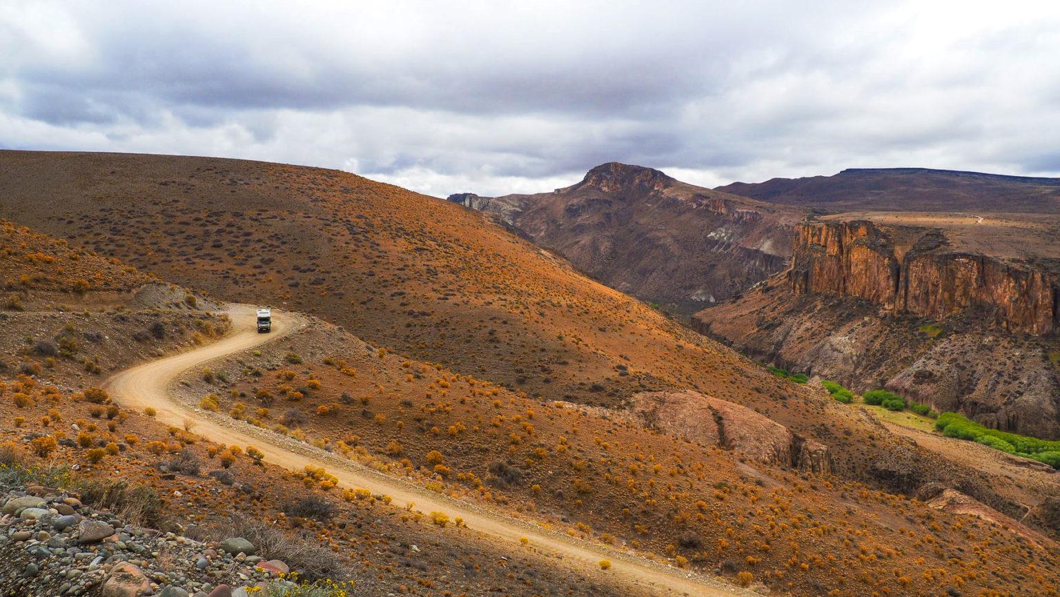 Auf dem Weg zu den Cuevas de las Manos