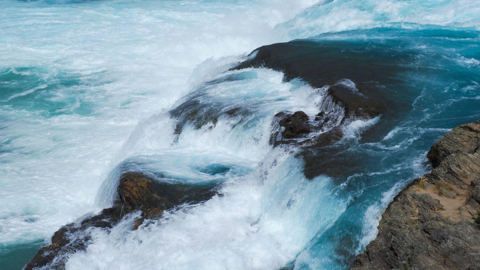 Wasserfall am Rio Baker