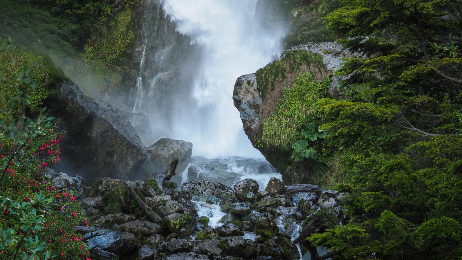 Wildes unberührtes Patagonien