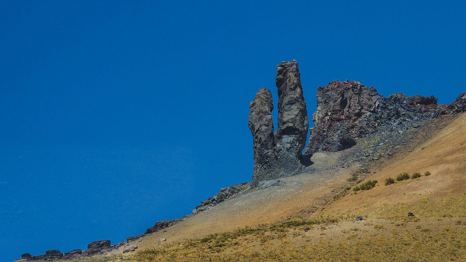 Vulkanische Schlote