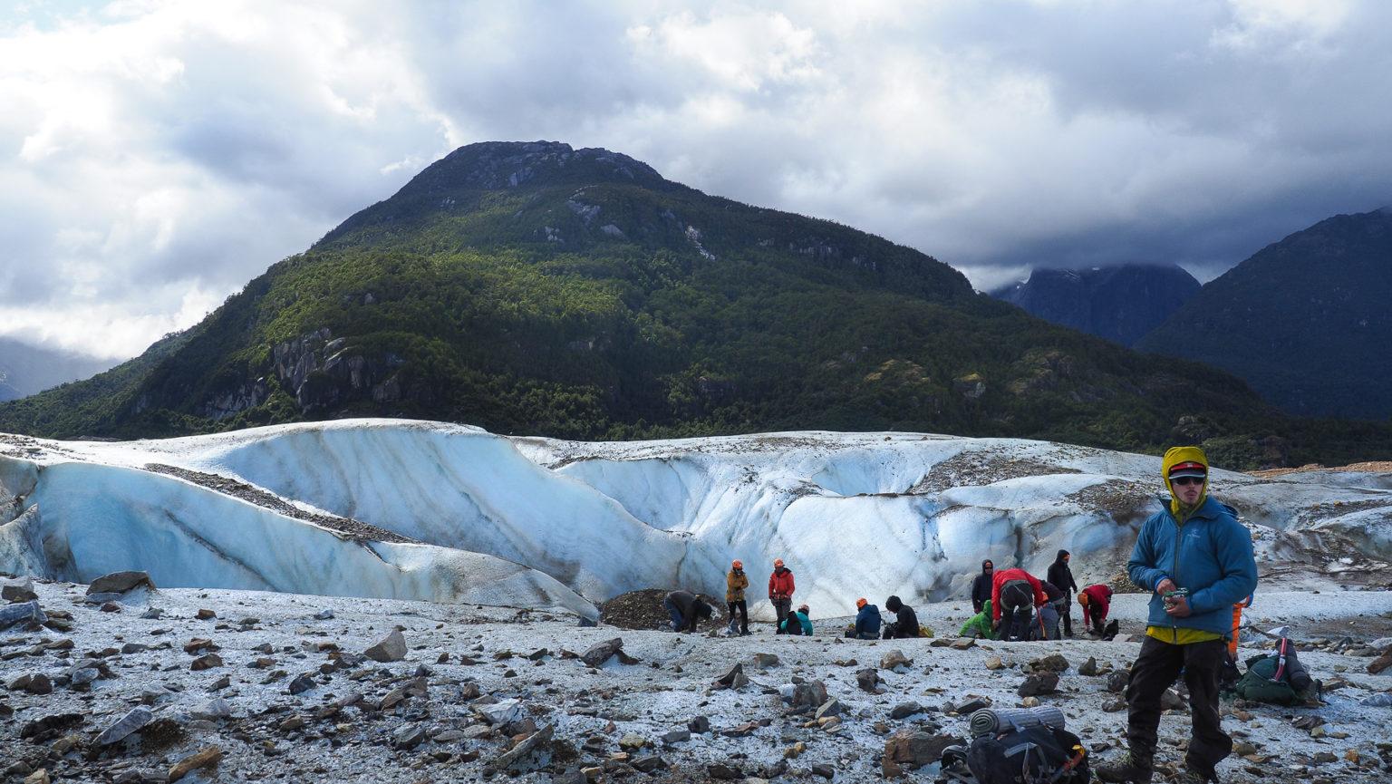 Tour auf den Exploradores Gletscher