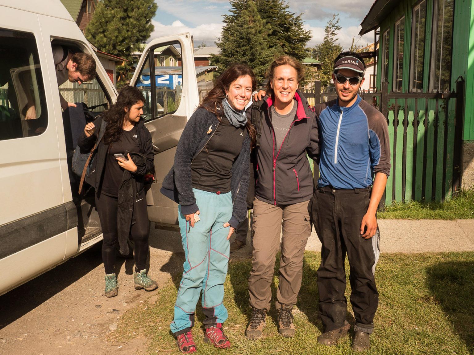 Unsere sympathischen Guides, Marie und Javier