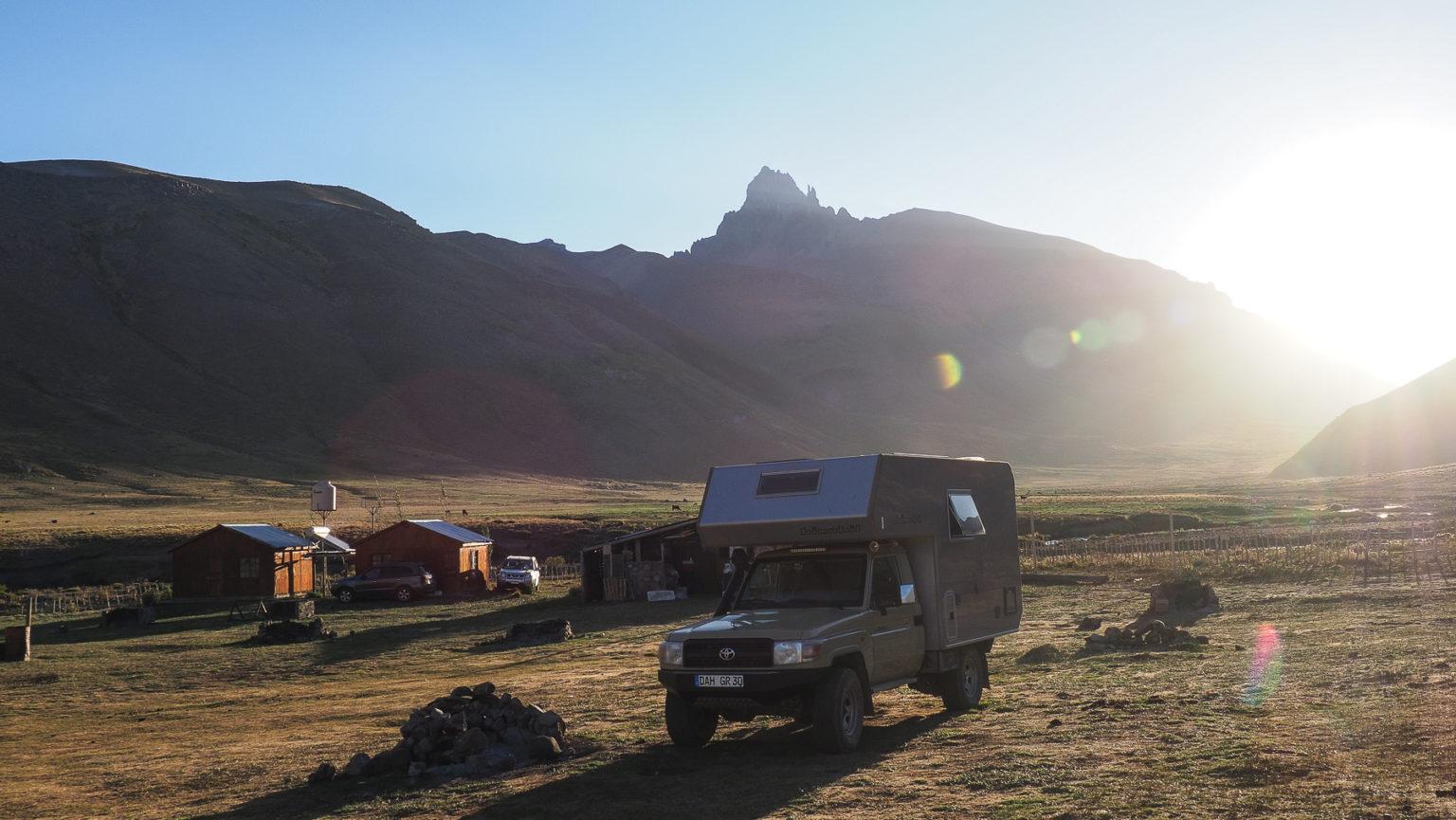 Kleiner gemütlicher Campingplatz