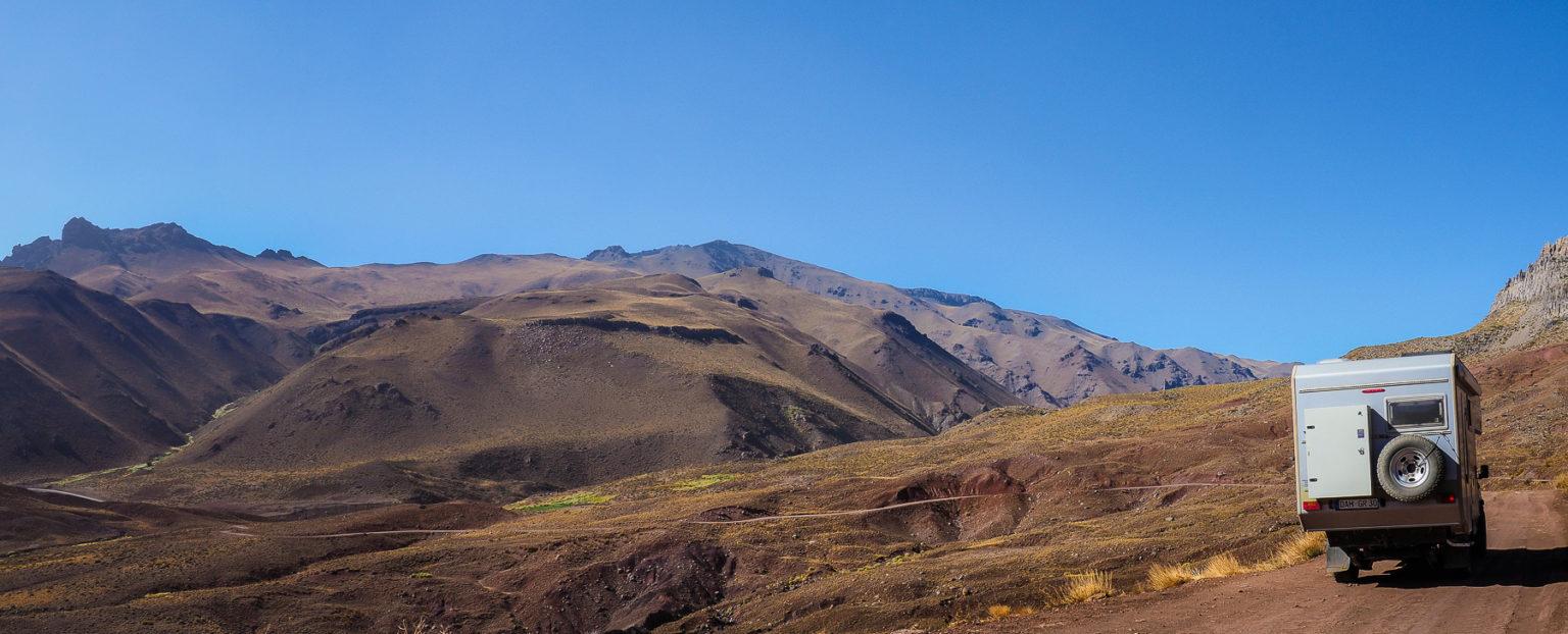 Wunderschöne Fahrt durch die Argentinischen Hochtäler