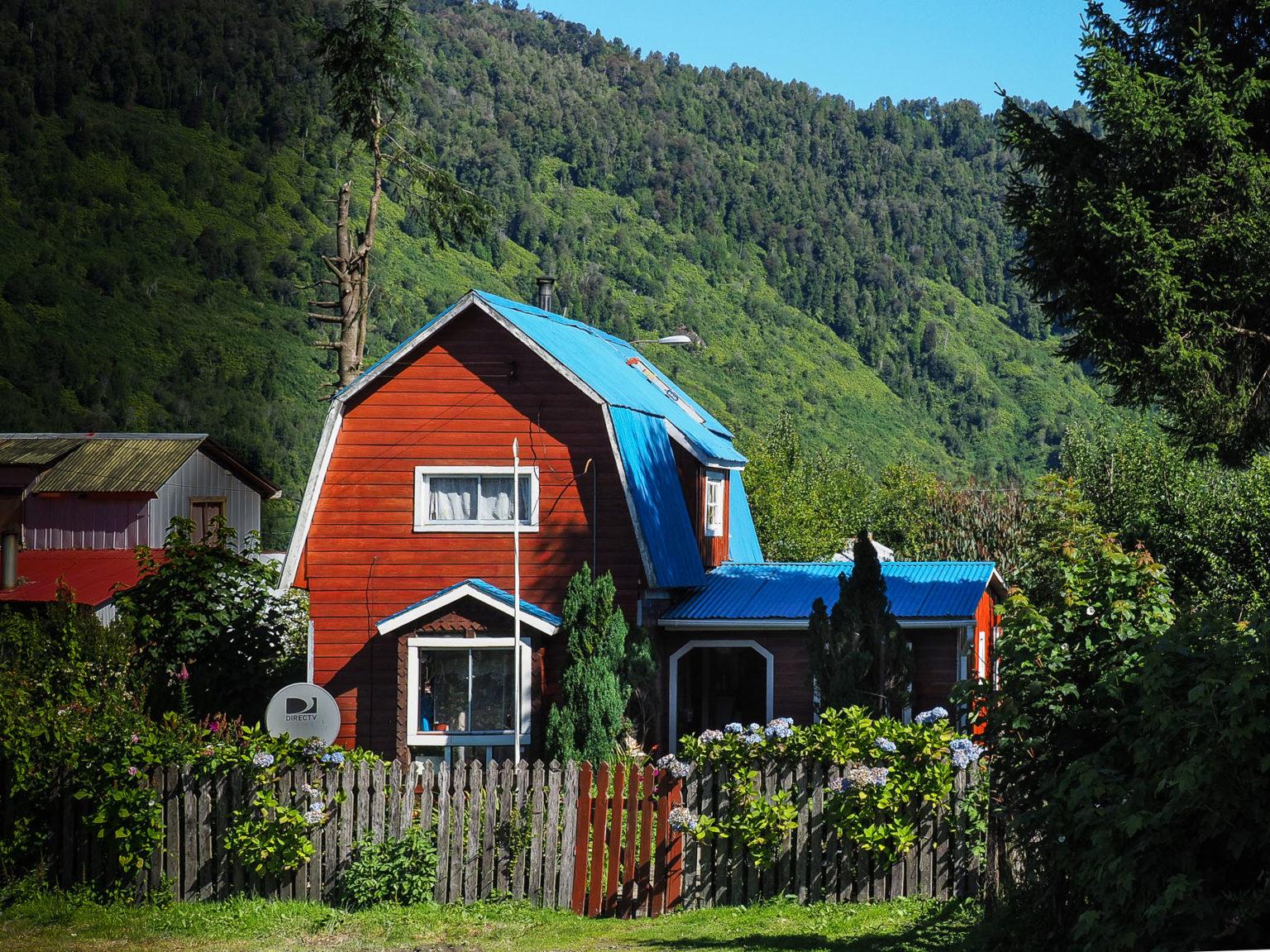 Puyuhuapi, mit seinen hübschen Holzhäusern