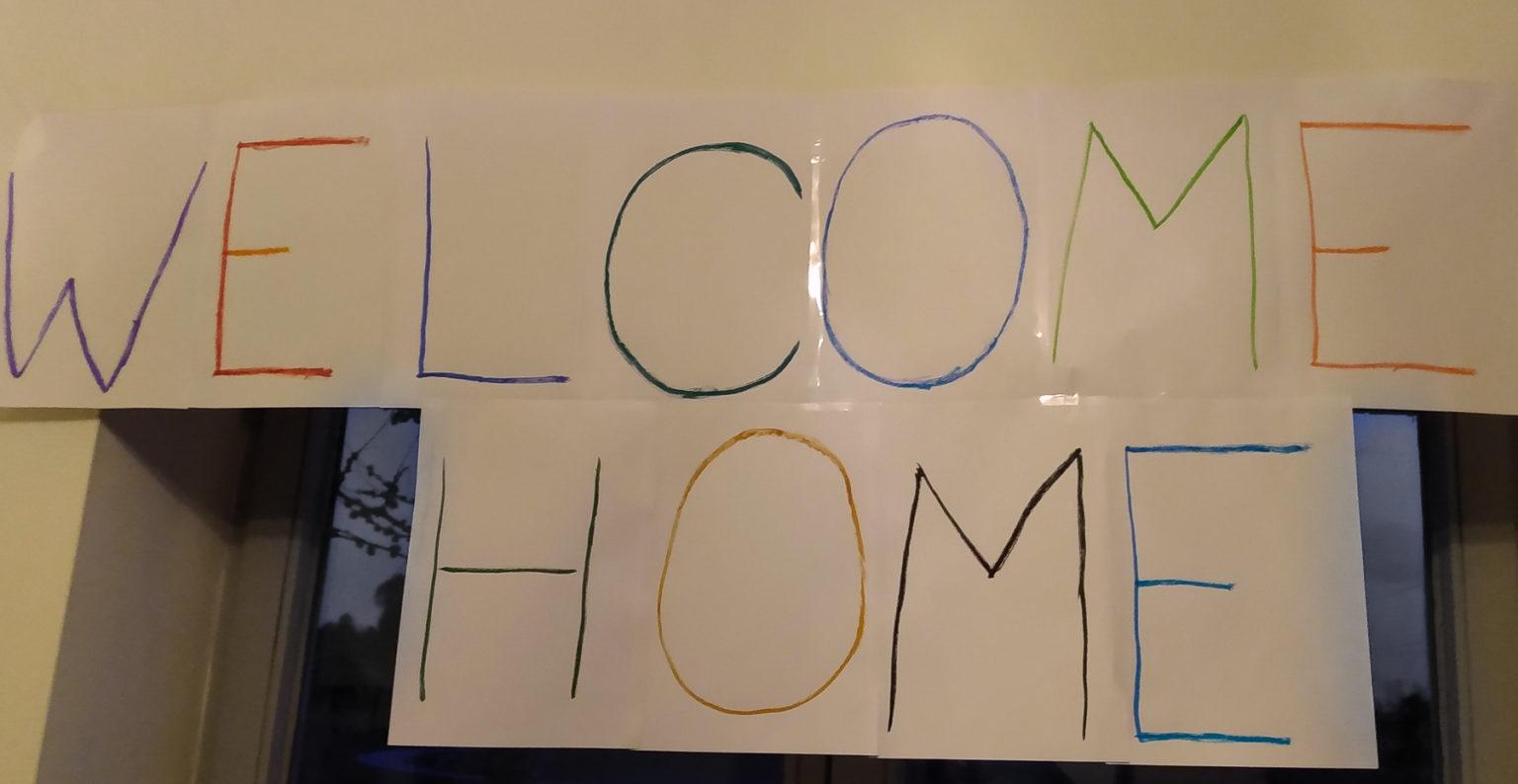 Wieder Zuhause nach einer zweijährigen Reise