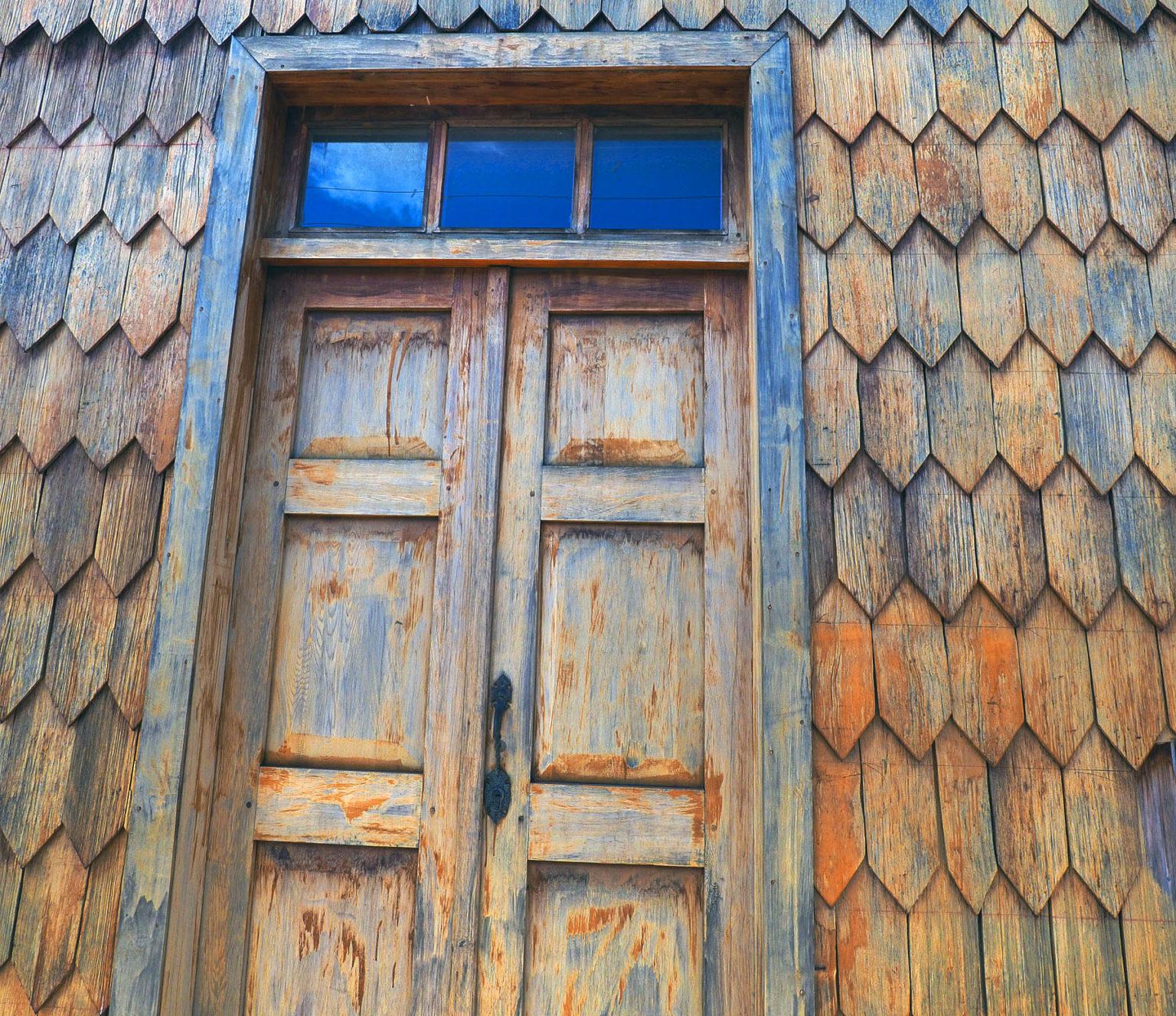 Alte Holzschindeltechnik