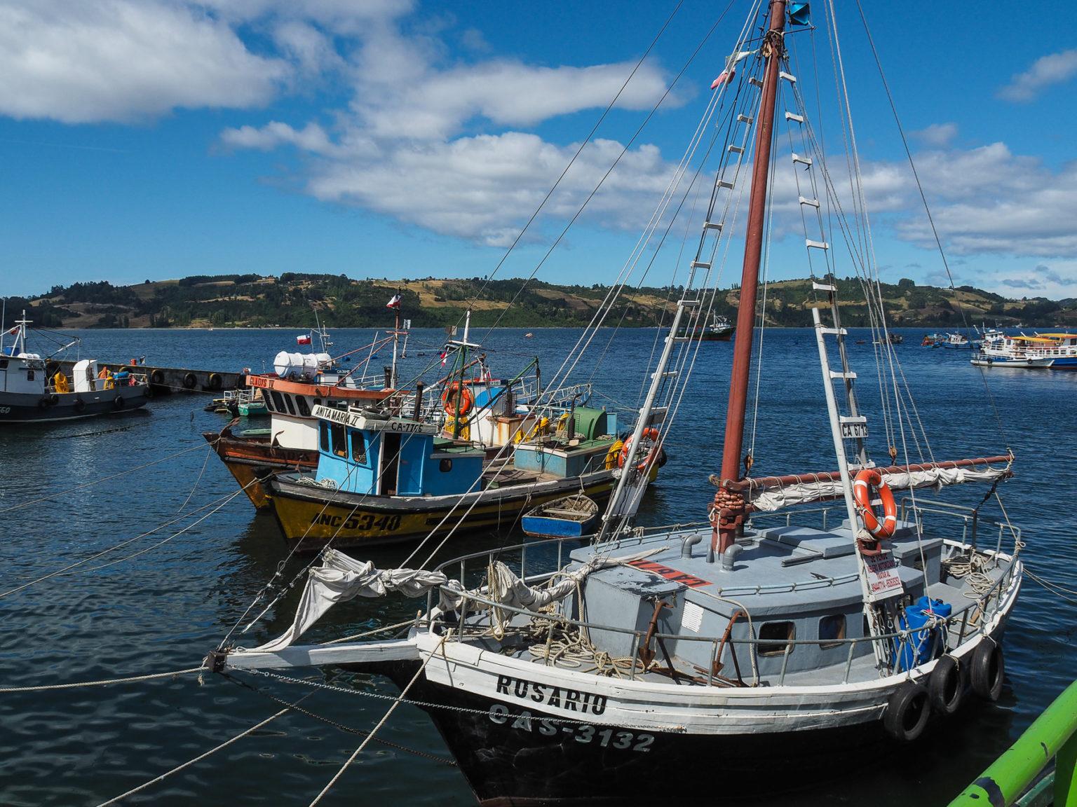 Fischer und Bauern leben auf Chiloe