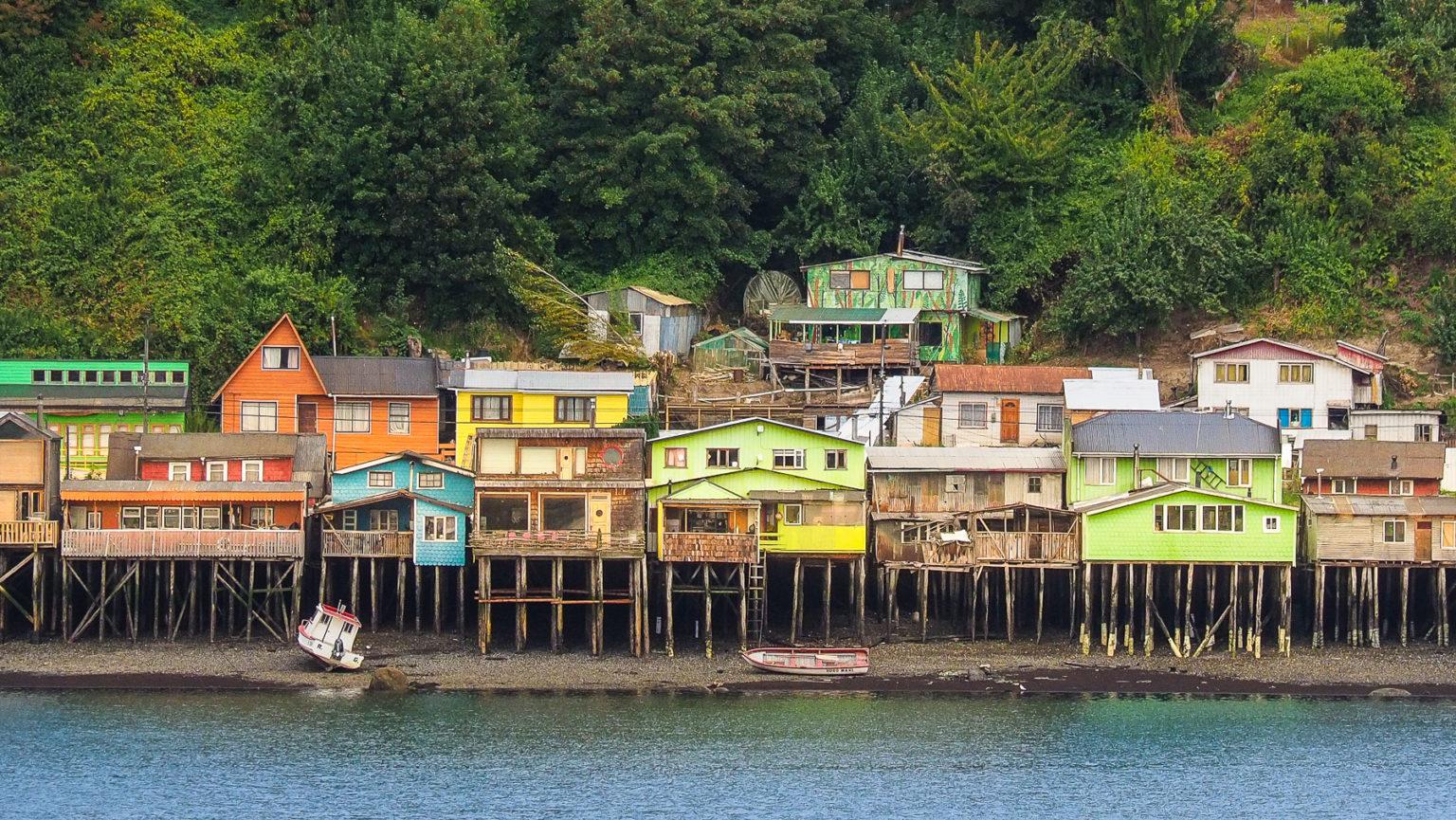 Malerische Fischerdörfer auf Chiloe