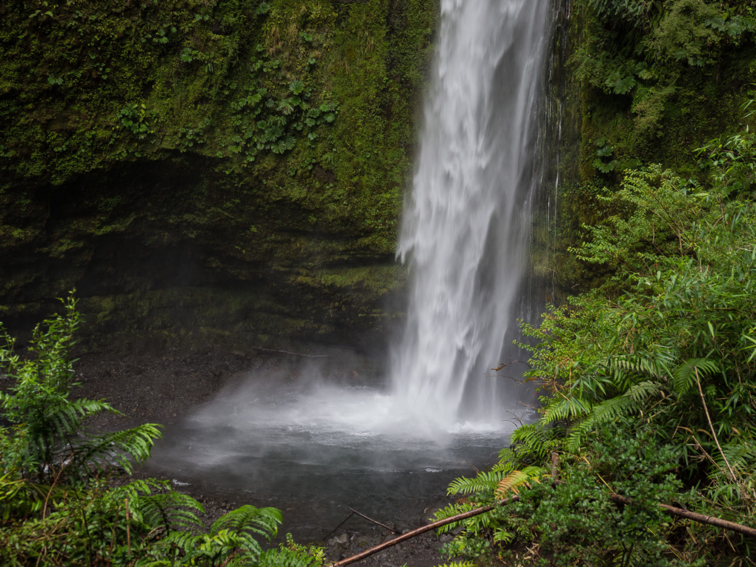 Irgendein Wasserfall am Wegesrand